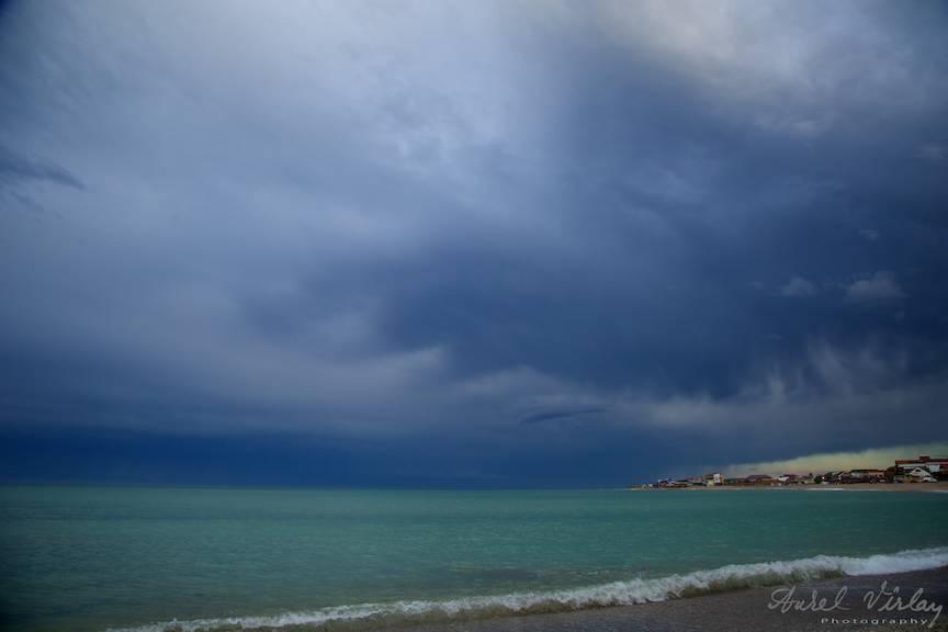 Vama Veche Fotografii cer nori albastri -55
