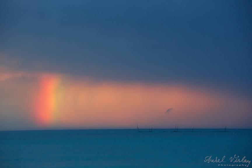 Vama Veche Fotografii cer nori albastri -66