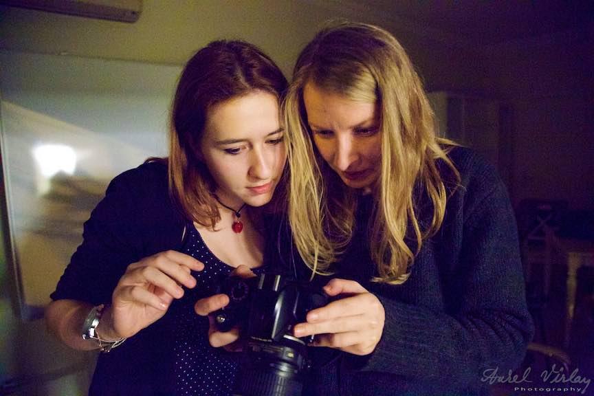 Atelier de Fotografie *Dialog cu vizibilul* Making-of.
