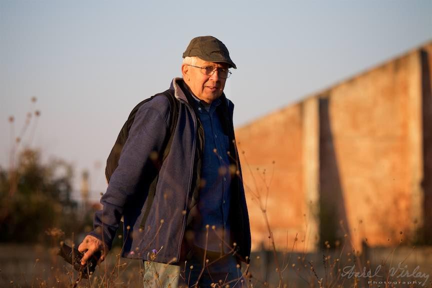 Portret fotografului din Gruiu, Paul.