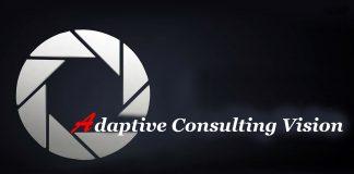 Logo creat special pentru Adaptive Consulting Vision StartUp Nation Program.