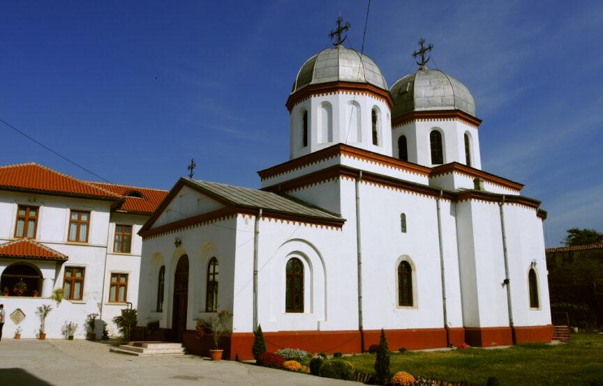 Manastirea Comana, construita de Vlad Tepes in 1461
